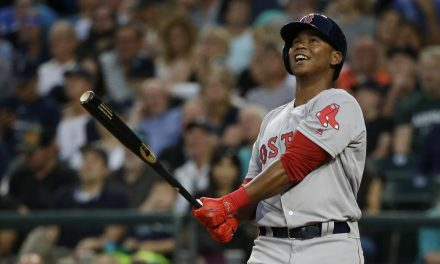 """Judging"" Rafael Devers"