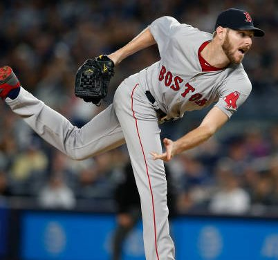 Chris Sale:  Boston's MIA Ace