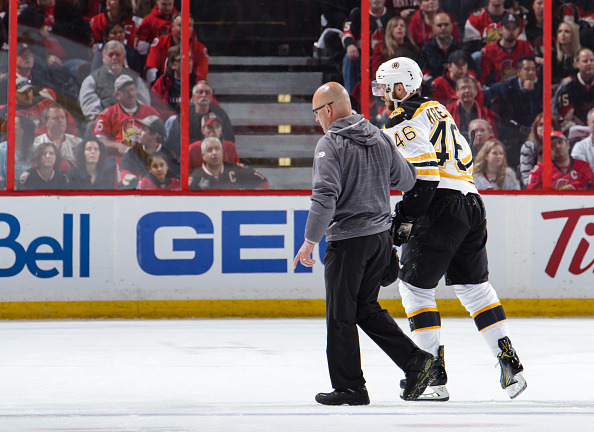 SHOULD BRUINS TRADE DAVID KRECJI?