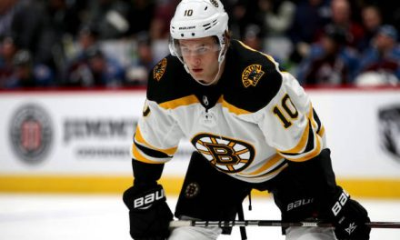 Bruins Exit Weekend With Two of Four Points