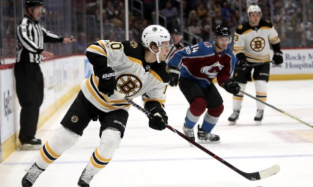 Bruins Upcoming Schedule Could Bury Them