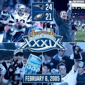 Super Bowl 39 Result
