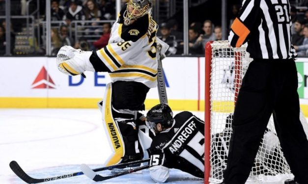Anton Khudobin Is Carrying the Boston Bruins