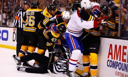 The Bruins-Canadiens Rivalry