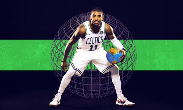 IT'S KYRIE'S WORLD, WE'RE JUST LIVING IN IT