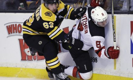 Brad Marchand Needs to Stop Making Illegal Hits
