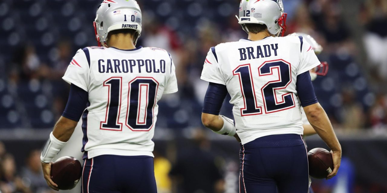 Jimmy Garoppolo On His Time With The Patriots