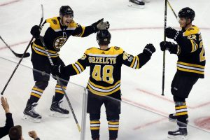 Boston Bruins Matt Grzelcyk goal