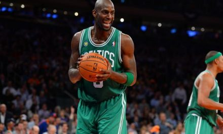 Garnett to the Rafters? I Sure Think So