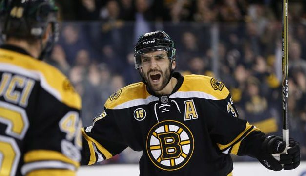 Patrice Bergeron- Fire on Ice