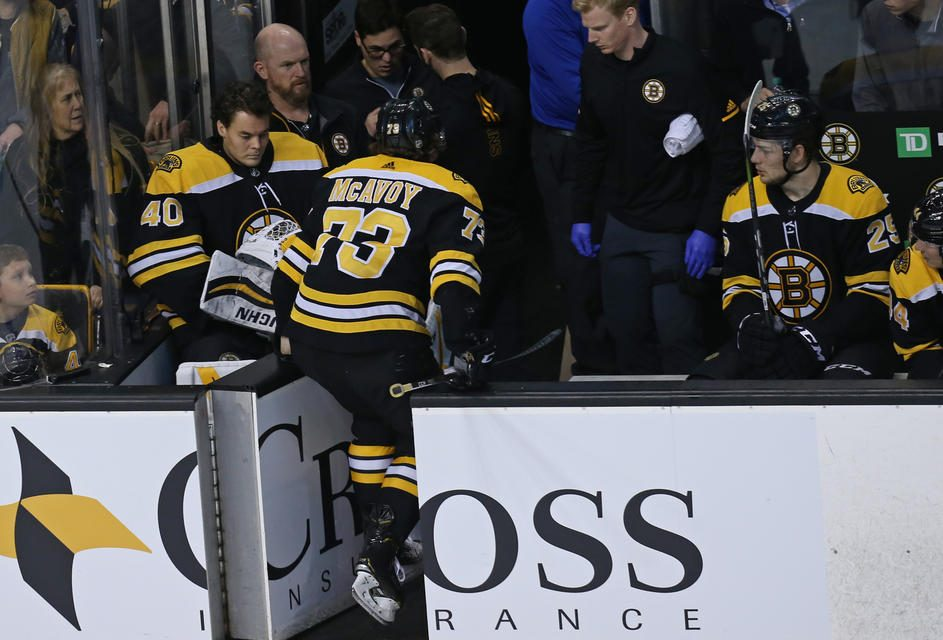 Injury Bug Could Define Bruins' Season