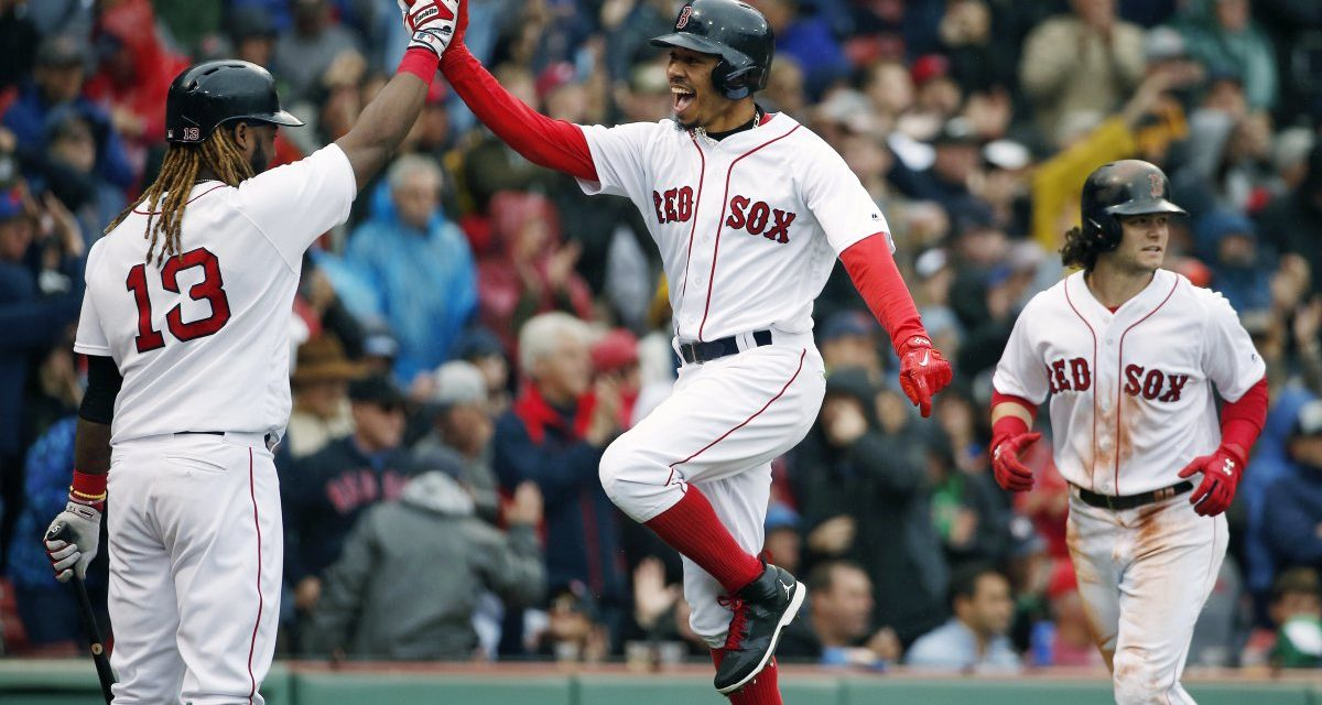 Ideal 2018 Red Sox Opening Day Lineup