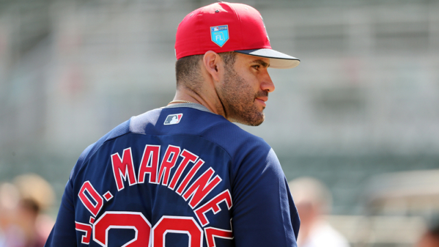 J.D. Martinez Is Making Plays with Mookie Betts