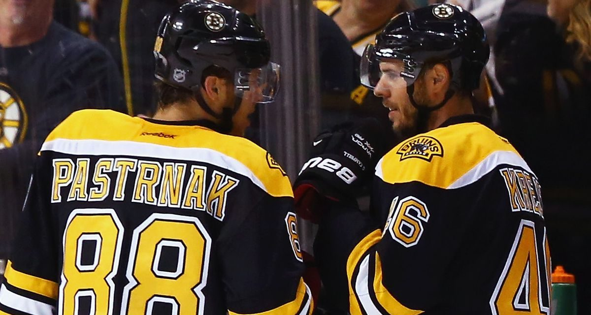 Czech This Out- the Bruins Are Back in Fighting Form