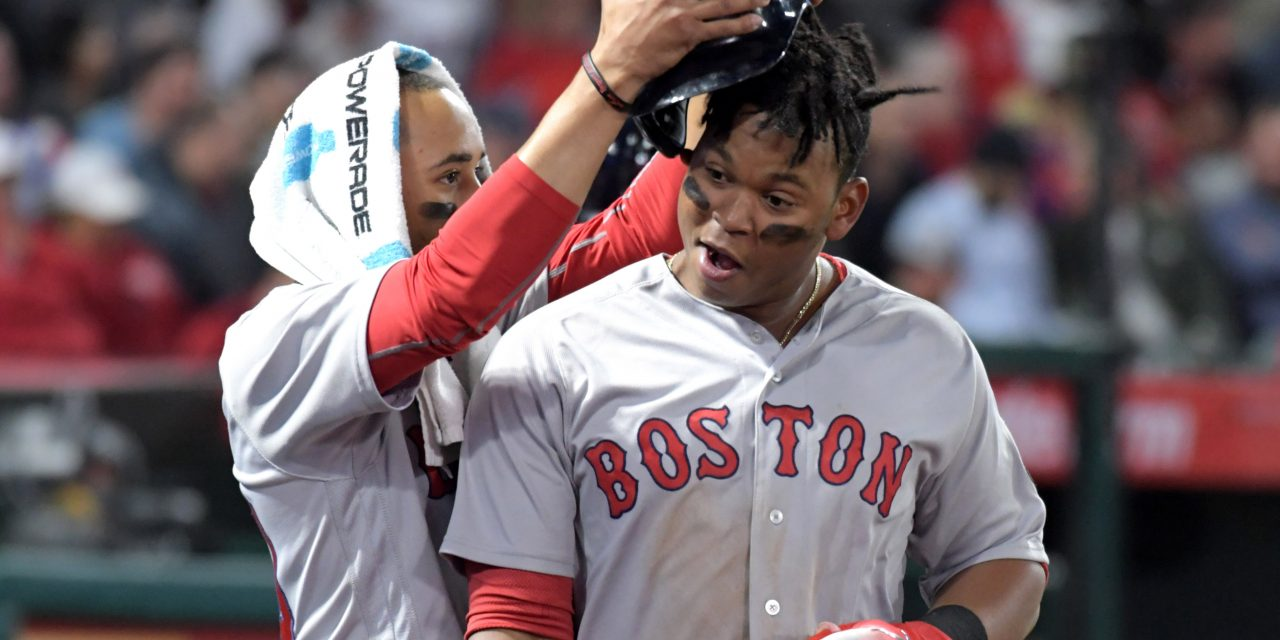 Red Sox Lose Their First Series