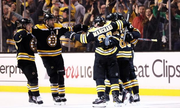 Bruins Dominate Game 2
