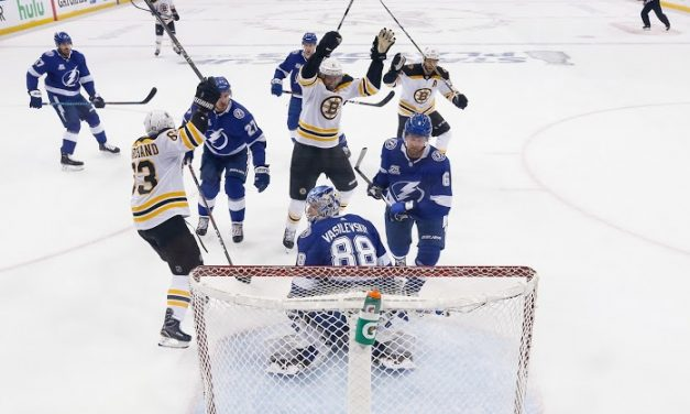 Stanley Cup Round 2- Bruins Meet Tampa