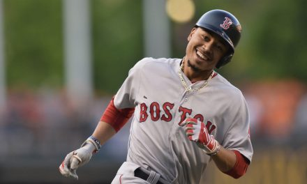 Mookie Betts Having a Great Season so Far