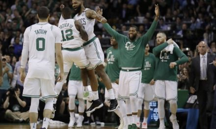 LeBron Struck First, but the Celtics Got the Last Laugh