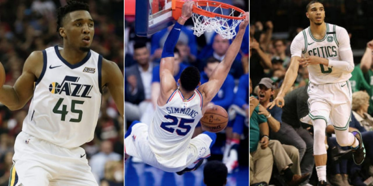 Jayson Tatum Named 2018 NBA Rookie of the Year Finalist