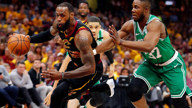 LeBron, Cavs Send Message with 116-86 Pummeling over Celtics