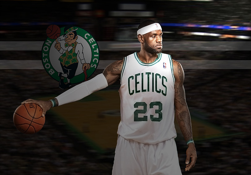 sale retailer 10b76 caa9d LeBron James Set to Meet with Celtics