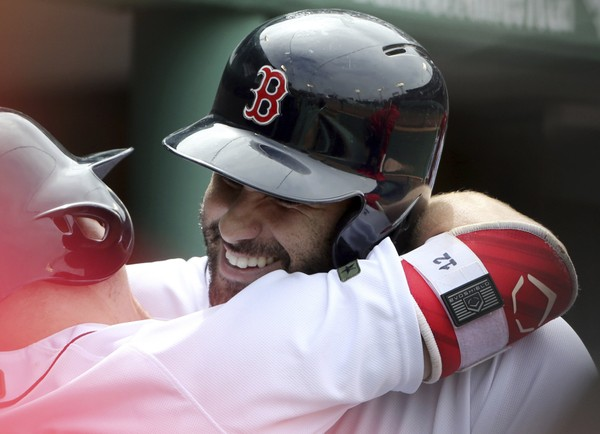 Can J.D. Martinez Continue to Make Home Run History?