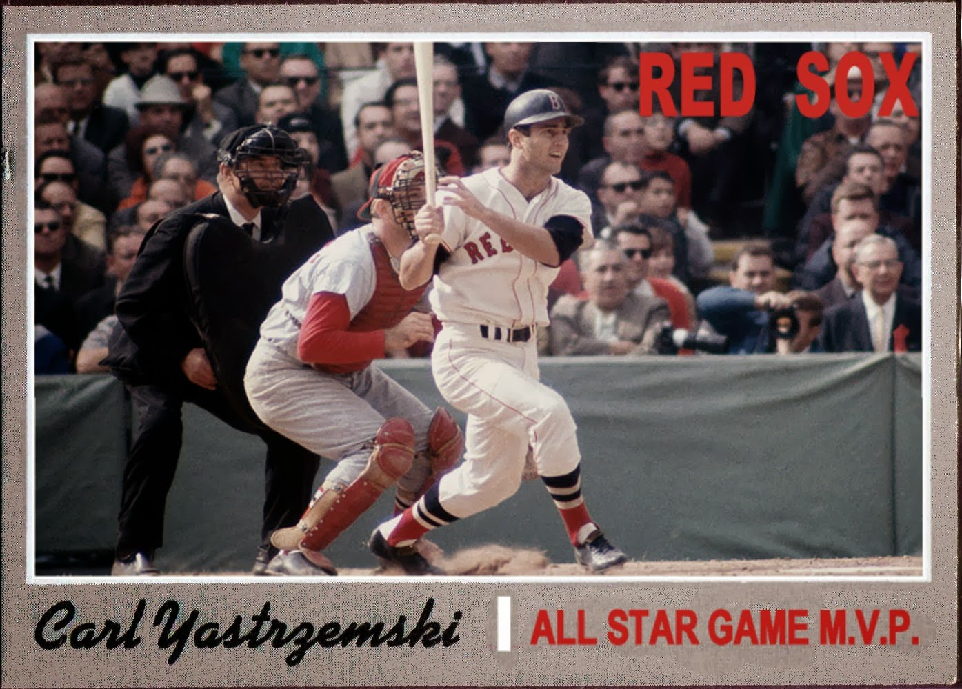 1970 Topps Carl Yastrzemski AS MVP