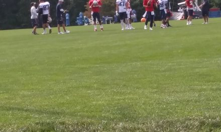 BSE at Patriots Training Camp (@steveA1127)