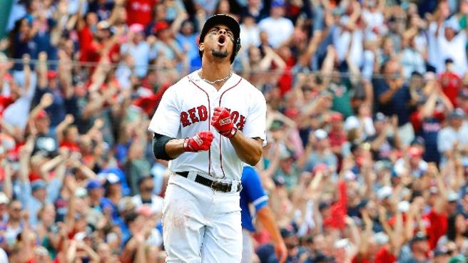 Xander Bogaerts' Walk-Off Slam the First for Sox in Almost 18 Years  (@MrMac91)