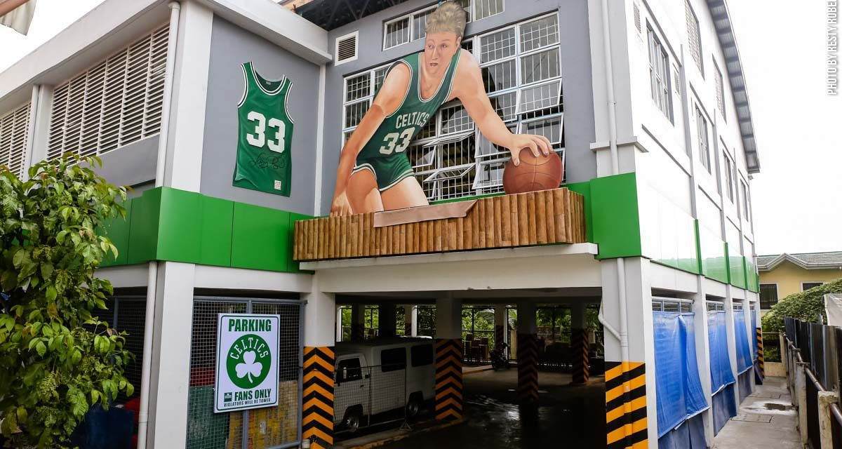 ShamRock Garden: Celtics Inspired Court in Philippines (@JCEFS27)
