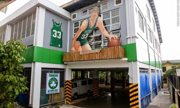 ShamRock Garden: Celtics Inspired Court in Philippines (@JCEFS27)