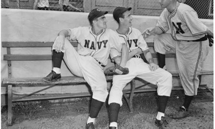 Seventy-Five Years Ago This Week, Ted Williams Hit His Stride in Navy Baseball
