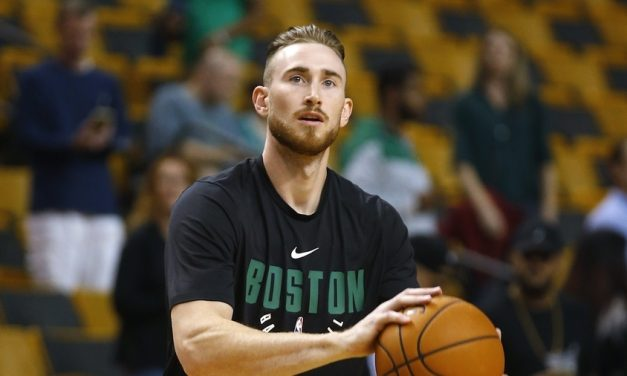WATCH: Gordon Hayward Dunks for First Time Since Injury