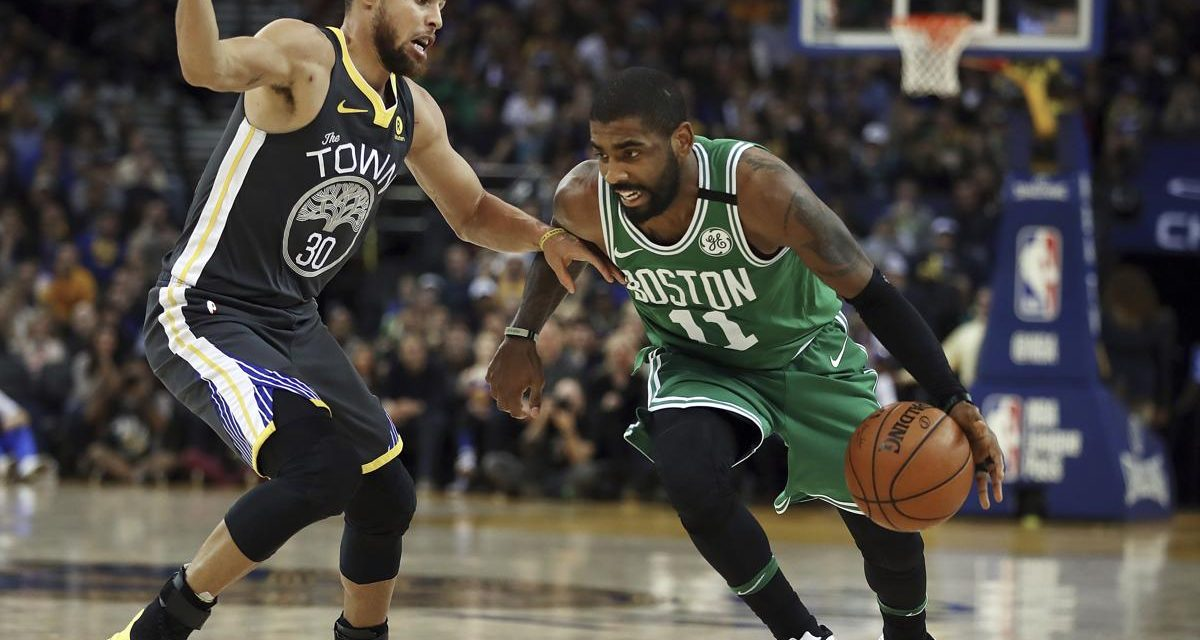 Kyrie Irving- Greatest Ball Handler of All-Time