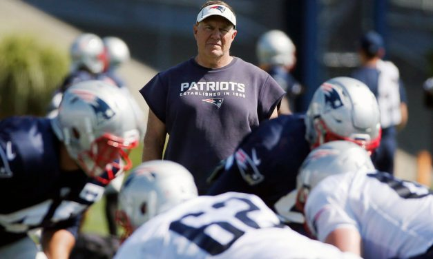 Patriots training camp starts in a month
