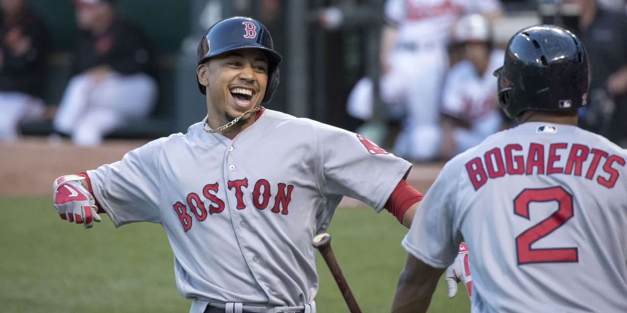 Mookie Betts: The Five Tool MVP