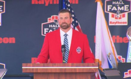 Matt Light Inducted To The Patriots HOF