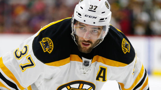 Bergeron Returns To The Ice