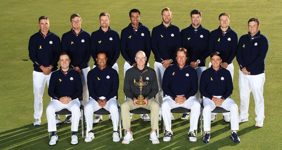 The 2018 US Ryder Cup Team as Kids
