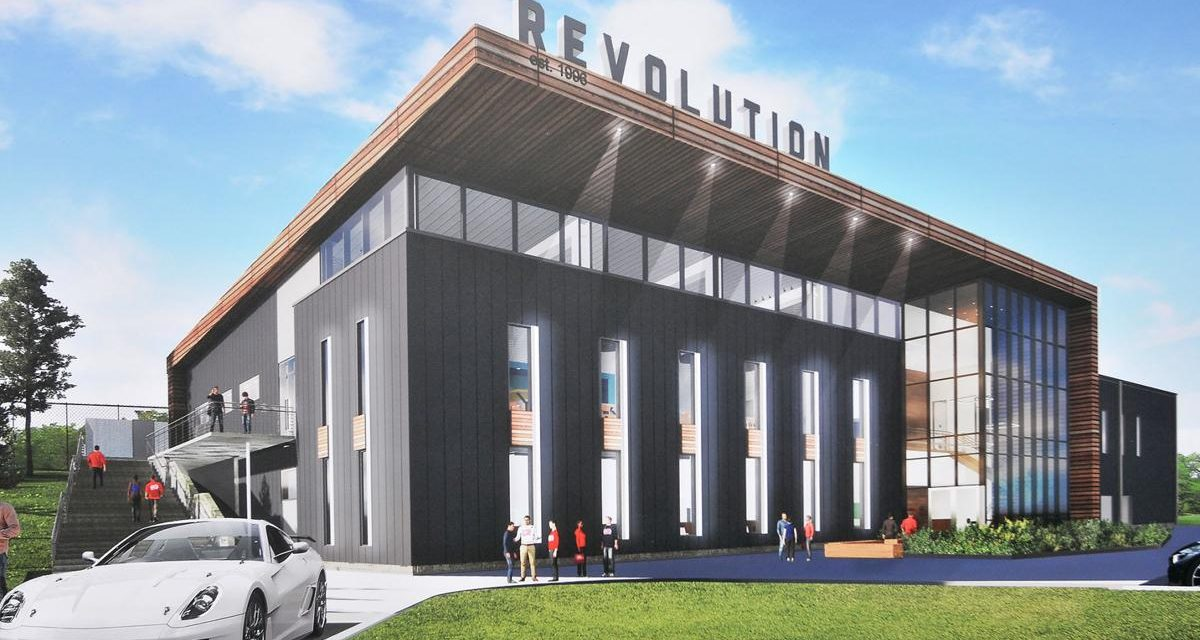The Revolution are Getting a New Practice Facility