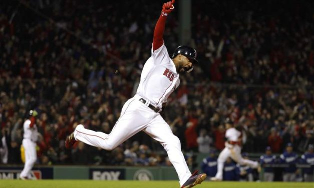 Red Sox Take Game 1 of the 2018 World Series