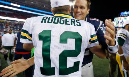 Comparing Tom Brady to Aaron Rodgers