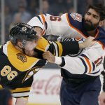 Boston Bruins Win 4-1 Against Oilers