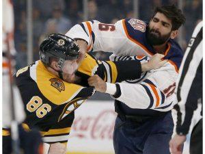 Bruins versus Edmonton
