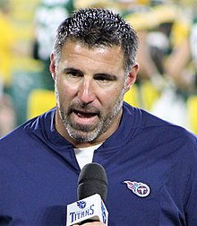 Mike Vrabel will be facing his old team Sunday