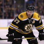 Boston Bruins: Patrice Bergeron Out With Injury