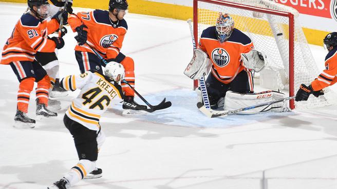 Bruins Second Line Catching Fire
