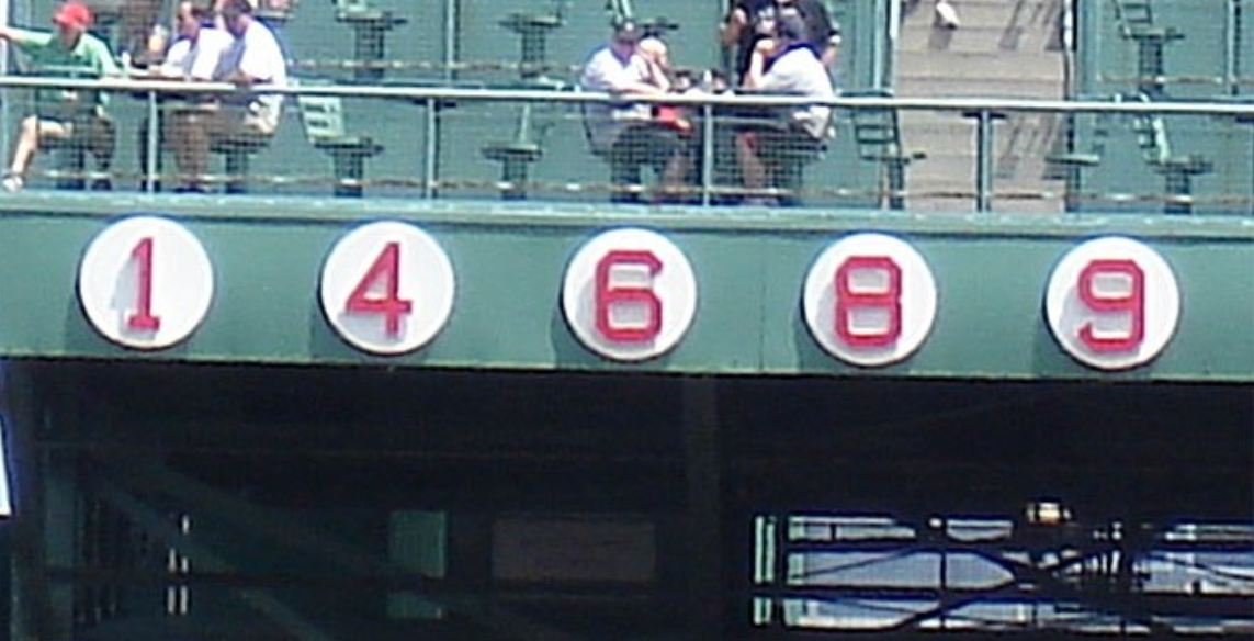 The Greatest Red Sox Legends by Uniform Number: 6-10