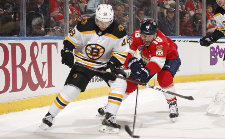 Bruins Fall to Florida 5-0